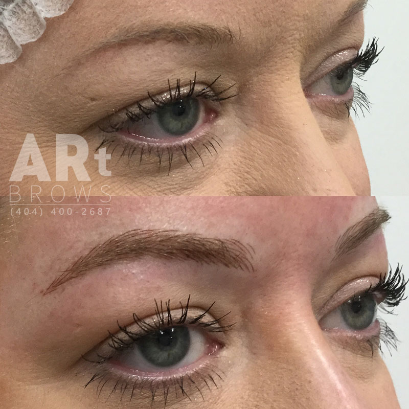 eyebrows art brows atlanta